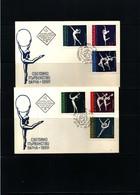 Bulgaria 1969 Varna World Championship In Rytmic Gymnastics FDC - Gymnastik