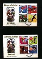 Scotland Bernera Islands 1978 World Football Cup Argentina FDC - 1978 – Argentine