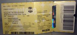 TORINO FC - FC INTERNAZIONALE STADIO OLIMPICO 18 MARZO 2017 - Biglietti D'ingresso