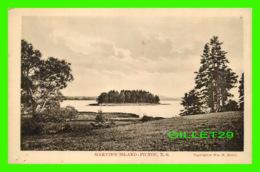 PICTOU, NS - GARVIN'S ISLAND - PUBLISHED BY W. M.MUNTO - - Nouvelle-Écosse