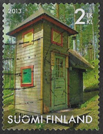 Finland 2013 Outhouses 2nd Type 3 Good/fine Used [21/25887/ND] - Finnland