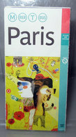 PARIS INDEX DES STATIONS DE METRO DES GARES RER ET DES ARRETS DE TRAMWAY - Carte Stradali