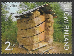 Finland 2013 Outhouses 2nd Type 4 Good/fine Used [21/25888/ND] - Finland