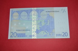 20 EURO NETHERLANDS R016 A4 - P28652852044 - UNC NEUF FDS - EURO