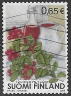 Finland SG1714 2003 Ligonberry Coil Stamp 65c Good/fine Used [39/31804/6D] - Finland