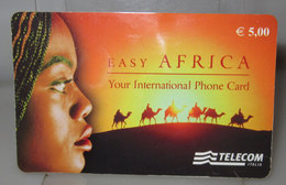 TELECOM EASY AFRICA PHONE CARD € 5.00 - Italy