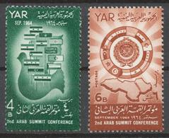 Yemen 1964 Mi# 400-01** 2nd ARAB SUMMIT CONFERENCE - Yemen