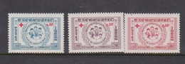Cambodia SG 95-97 1959 Red Cross Fund.,mint Never Hinged - Cambodia