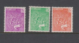 Cambodia SG 118-120 1961 Cambodian Soldiers Commemoration ,mint Never Hinged - Cambodge