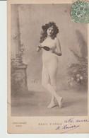 CPA - FEMME NUE AVEC MIROIR FACE A MAIN - MEATY FLEURON - ORICELLY - PRECURSEUR - Nus Adultes (< 1960)