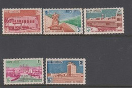 Cambodia SG 128-132 1962 Foreign Aids Programmes,mint Never Hinged - Cambodia