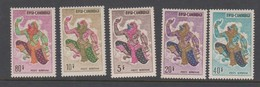 Cambodia SG 165-169 1964 Air Mail,mint Never Hinged - Cambodia