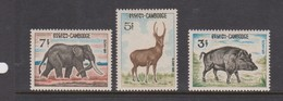 Cambodia SG 208-210 1967 Fauna ,mint Never Hinged - Cambodja