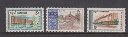 Cambodia SG 227-229 1967 Universoties And Institutes  ,mint Never Hinged - Cambodia