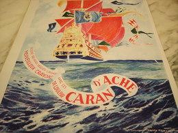 ANCIENNE PUBLICITE CRAYON DE COULEUR DE CARAN D ACHE 1930 - Autres Collections