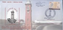 India  2018  Clocks  Ludhiana Clock Tower  Special Cover   # 16327  D  Inde Indien - Clocks