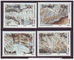 D101225 Transkei 1990 South Africa PREHISTORIC FOSSIL TREES MNH Set - Afrique Du Sud Afrika RSA Sudafrika - Transkei