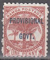 SAMOA  SCOTT NO. 32   USED   YEAR  1899 - Samoa