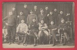 Soltau  - Gruppe Belgischer Soldaten ... Gefangene - 1916 - Oorlog 1914-18