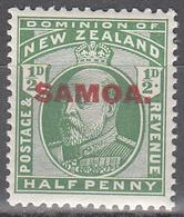 SAMOA  SCOTT NO. 114   MINT HINGED    YEAR  1914 - Samoa (Staat)
