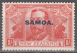 SAMOA  SCOTT NO. 141     MINT HINGED    YEAR  1920 - Samoa