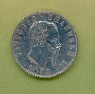ITALIE : VICTOR EMMANUEL II - 5 LIRES 1872 Milano - 1861-1946 : Royaume