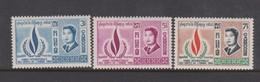 Cambodia SG 240-242 1968 Human Rights Year ,mint Never Hinged - Cambodja