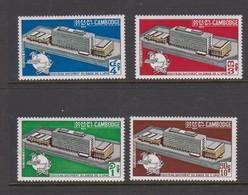 Cambodia SG 266-269 1970 Opening Of UN Headquarter Berne ,mint Never Hinged - Cambodja