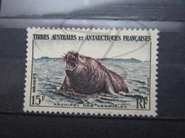 VEND BEAU TIMBRE DES T.A.A.F. N° 7 , XX !!! (b) - Unused Stamps