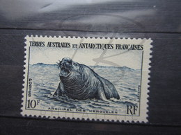 VEND BEAU TIMBRE DES T.A.A.F. N° 6 , XX !!! (b) - Unused Stamps