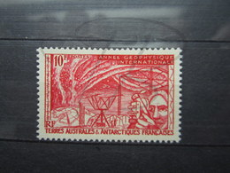 VEND BEAU TIMBRE DES T.A.A.F. N° 9 , XX !!! (b) - Unused Stamps