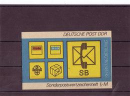 DDR, SMHD 11 Cd** Mi. 16,00 Euro (M 422) - Blocchi