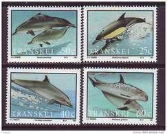 D101225 Transkei 1991 South Africa SEA MAMMALS DOLPHINS MNH Set - Afrique Du Sud Afrika RSA Sudafrika - Transkei