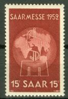 Saarland 317 ** Postfrisch - 1947-56 Allierte Besetzung