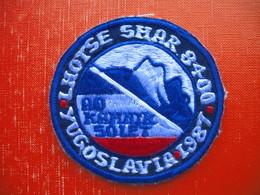 AO KAMNIK 50 LET-YUGOSLAVIA.LHOTSE SHAR 8400(mountain Climbing) - Ecussons Tissu