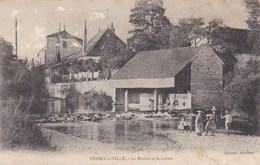 Cessey-sur-Tille - Le Moulin Et Le Lavoir - CAD Genlis (21) - Animée - Non Classificati
