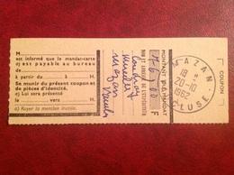 Cachet 1962 Mazan - Marcophilie (Lettres)