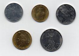 Vaticano - 1980 - Serie Di Monete  Da 10 - 20 - 50 - 100 E 200 Lire Papa Giovanni Paolo II° - Anno II° - (MW1959) - Vaticano