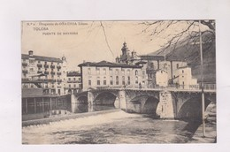 CPA   TOLOSA, PUENTE DE NAVARRA - Guipúzcoa (San Sebastián)
