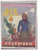 DT- Reich (007444) Propaganda Türblatt, Dezember WHW 1939/ 40 Zweite Wahl!! - Deutschland
