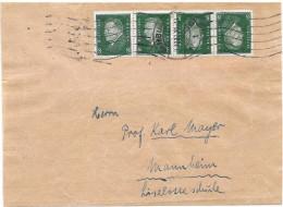 DR Brief Streifband Mef. Mi.412 M. K12 Hamburg 1932 (86) - Deutschland