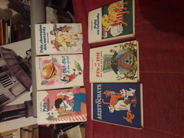 Lot De 9  Bibliotheque  Rose - Livres, BD, Revues