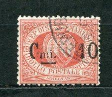 San Marino Nr.10         O  Used        (359) - Oblitérés
