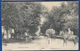 COMMERCY   Avenue Des Tilleuls  Animées    écrite En 1906 - Commercy
