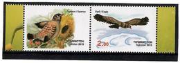 Tajikistan.2015 Birds Of Asia. Pair Of 2v X 2.00  Michel # 690-91 - Tajikistan