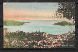 SAINT THOMAS V.I USA Town And Harbourg La Ville Et Le Port Taylor's Book Store - Vierges (Iles), Amér.