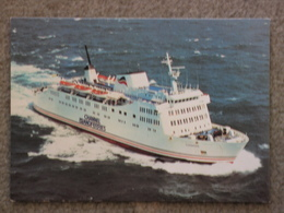 BRITISH CHANNEL ISLAND FERRIES CORBIERE - AERIAL VIEW - Ferries