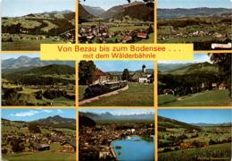 Von Bezau Bis Zum Bodensee ... Mit Dem Wäldlebähnle - 9 Bilder (1022) - Bregenzerwaldorte