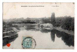 35077-ZE-25-BESANCON-Vue Prise Du Pont St-Pierre - Besancon