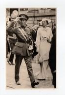 - CPA COUPLE ROYAL BELGE - Joyeuse Entrée à Anvers 12.5.1935 - Edition Phillips - - Familles Royales
